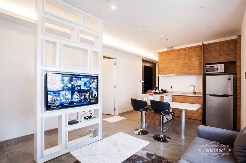 Phòng ốc của Charm Suite Residence Saigon
