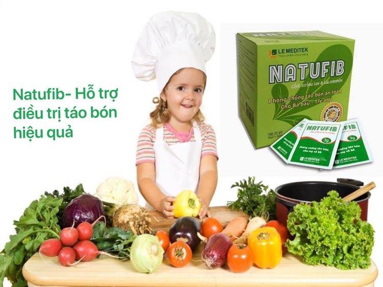 NATUFIB - Hỗ trợ tiêu hóa