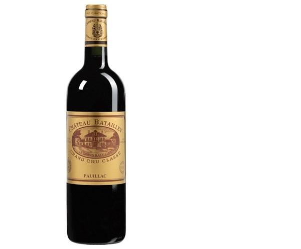 Chateau Batailley 2008 là một loại vang đỏ nổi tiếng đến từ vùng Bordeaux của Pháp