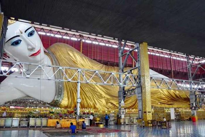 Bức tượng Phật Chauk Htat Gyi