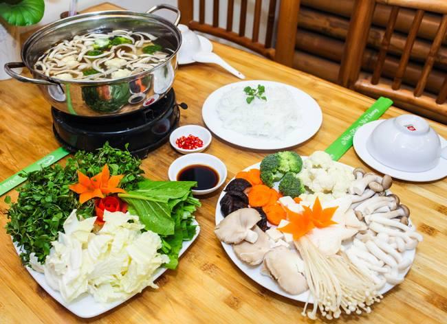 Chay An Lạc - Lẩu chay, thực phẩm chay