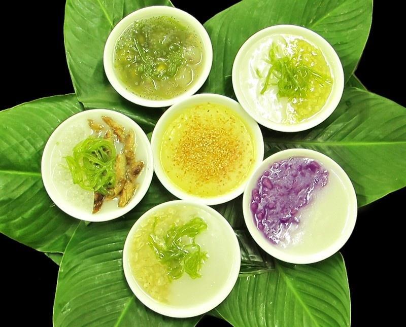 Chè là món ăn vặt phổ biến ở Việt Nam