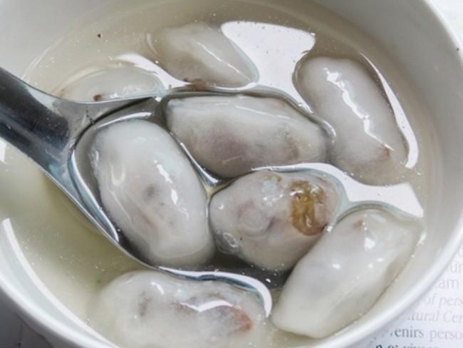 Món chè lạ có 2 vị mặn ngọt