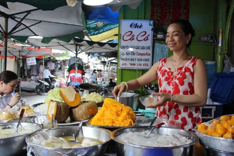 Chè Campuchia – Cô Có