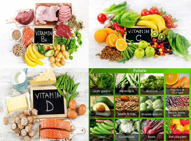 Chế độ ăn uống lành mạnh, giúp lưu thông máu lên não, ổn định tiền đình