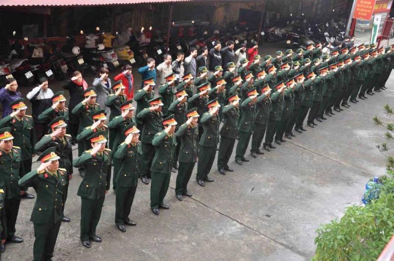 Chế độ nghỉ phép cho quân nhân chuyên nghiệp