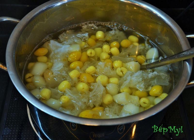 Chè hạt sen bạch quả