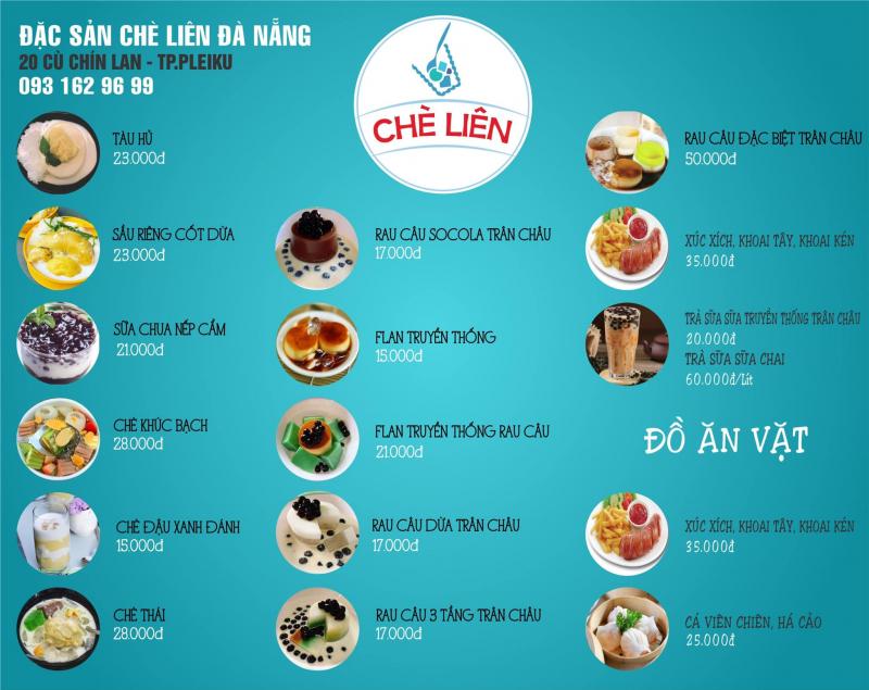 Chè Liên Đà Nẵng - CN Pleiku