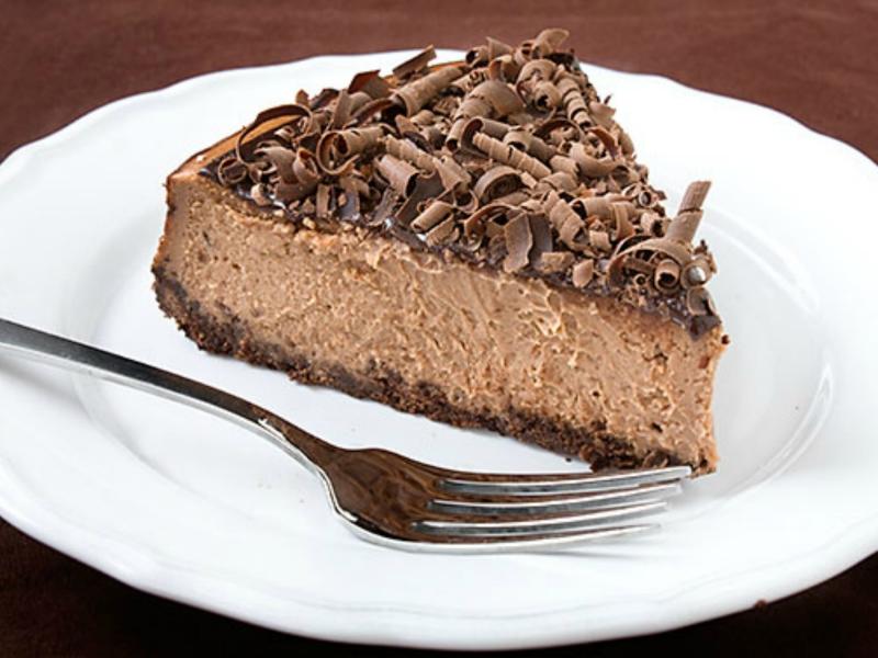 Cheesecake socola