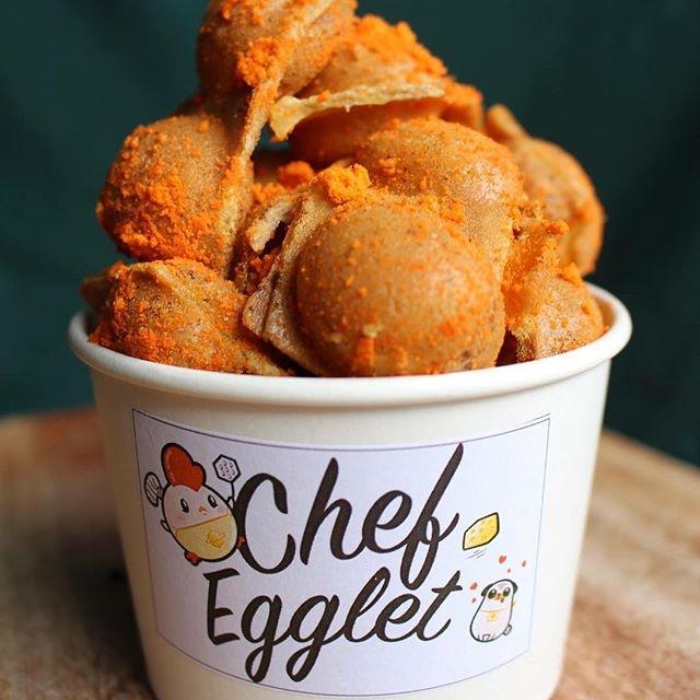 Bánh trứng nướng lắc phô mai chỉ có tại Chef Egglet