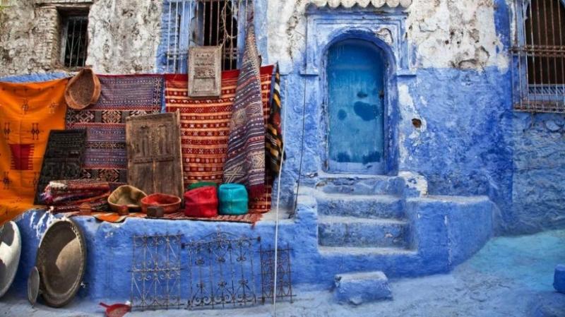 Chefchaouen ở phía Tây Bắc Morocco