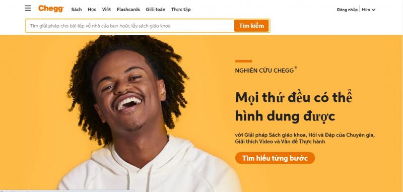 Chegg.com với hơn 2,9 triệu người dùng