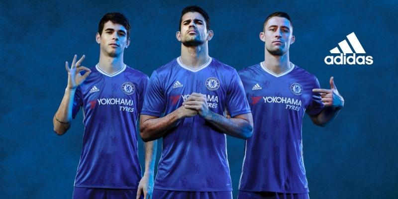Chelsea thi đấu với trang phục trên sân nhà