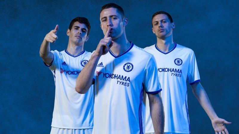 Mẫu áo thứ 3 của Chelsea