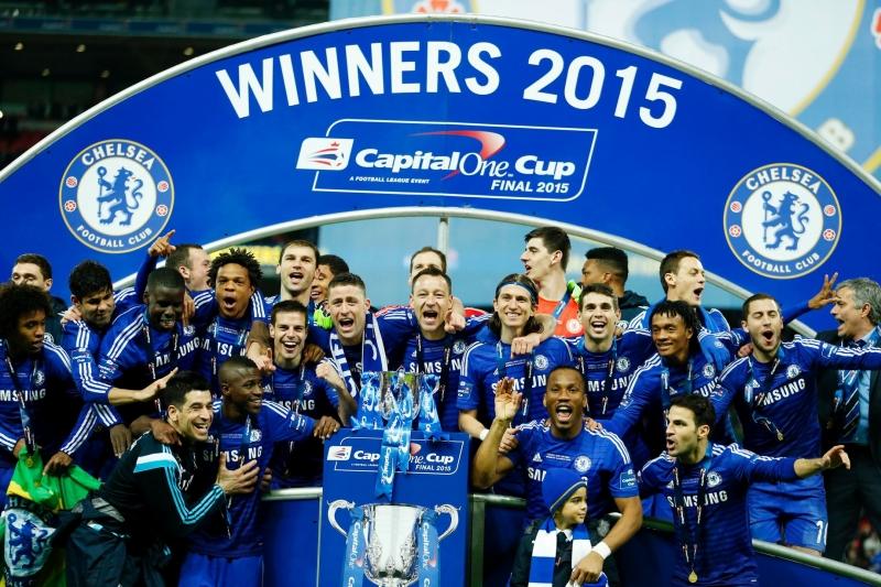 Chelsea chính là đội đoạt cúp năm 2015