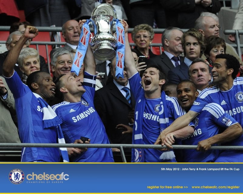 Chelsea vô địch năm 2012