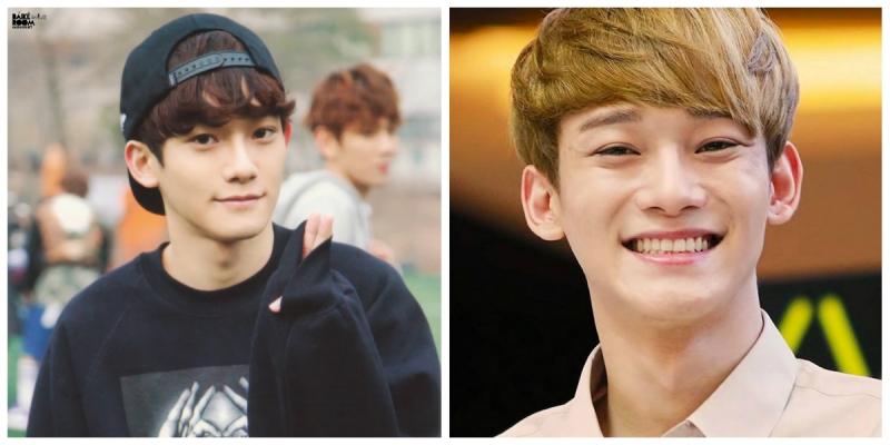 Chen sở hữu khóe môi cực duyên và quyến rũ