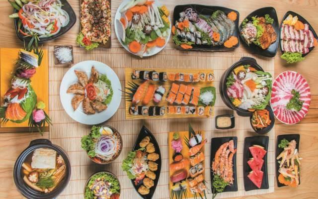 Hấp dẫn với những món ăn Nhật ở Chẹp