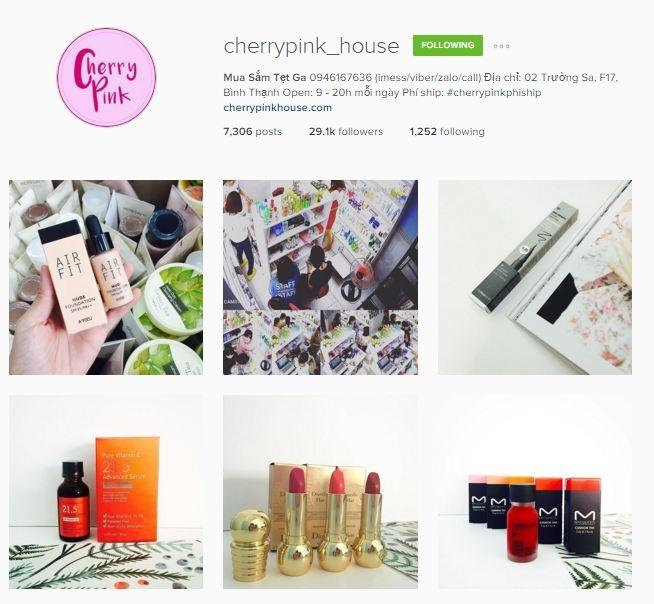 Cherrypink's House - Shop chuyên về mỹ phẩm