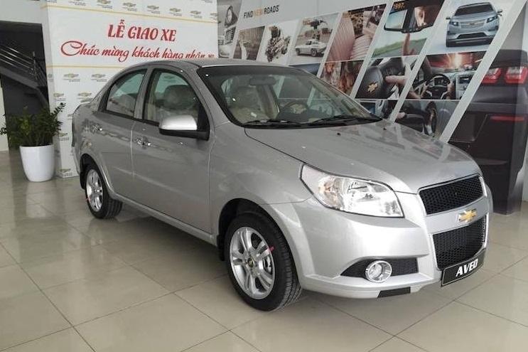 Chevrolet Aveo LT - mác Mỹ hồn Hàn Quốc