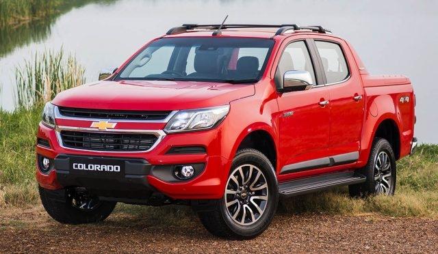 Ngoại hình bắt mắt của Chevrolet Colorado 2017
