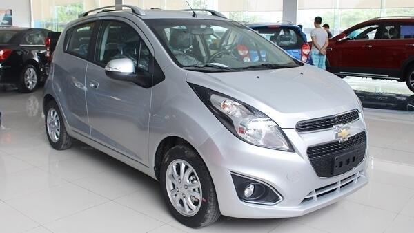 Chevrolet Spark LS xám bạc