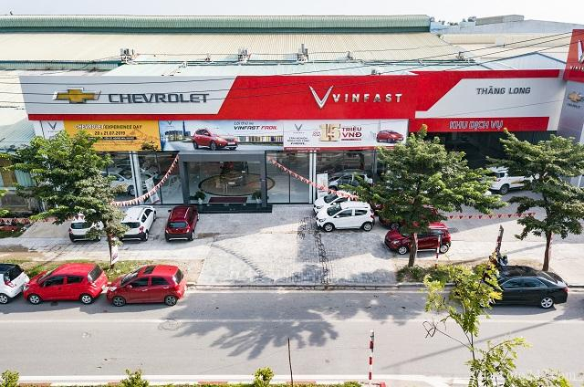 Đại lý Chevrolet Mỹ Đình