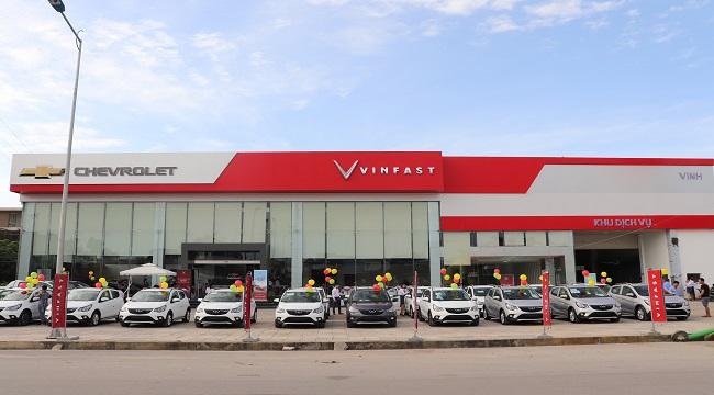 VinFast - Chevrolet Vinh