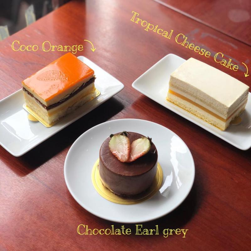 Đa dạng các loại bánh ngọt