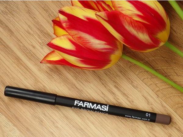 Chì kẻ chân mày Farmasi Eyebrow Pencil Nâu