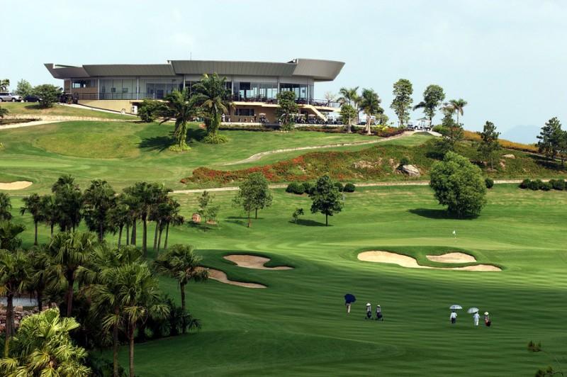 Quang cảnh nhà câu lạc bộ Chí Linh Star Golf