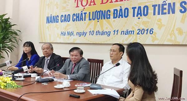 Thứ trưởng Bùi Văn Ga tại buổi tọa đàm