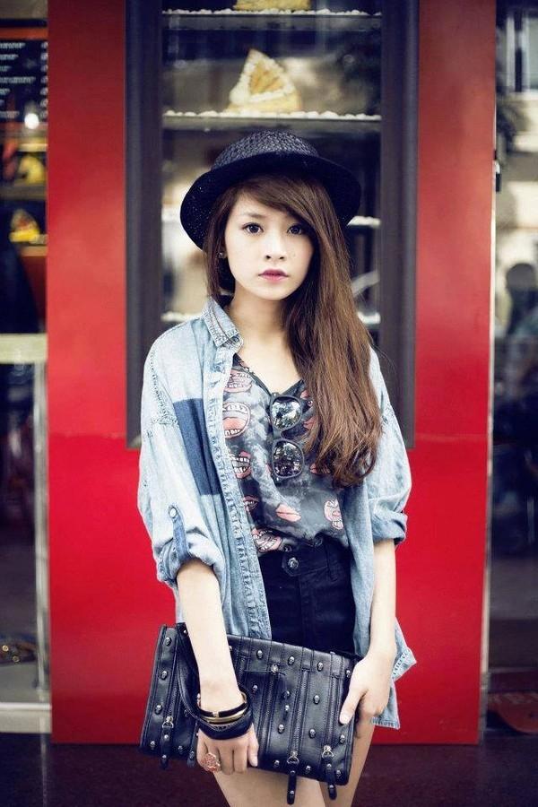 Chi Pu thời điểm sau khi tham gia cuộc thi Miss Teen năm 2009 ( nguồn internet)