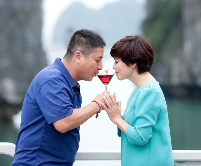 Chuyện tình yêu của Chí Trung và Ngọc Huyền được coi là hiếm có trong