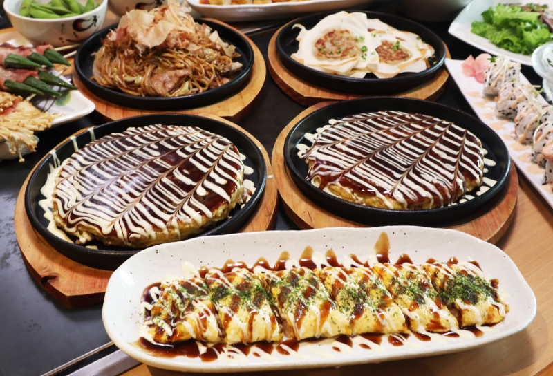 CHIBO Vietnam - Okonomiyaki - Bánh xèo Nhật Bản
