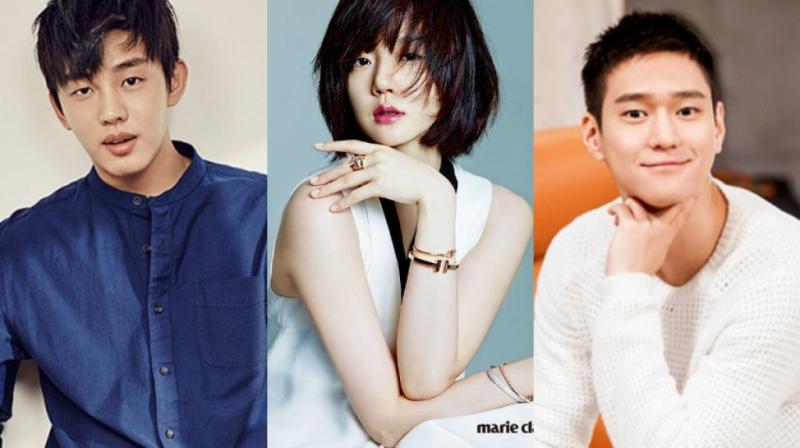 Yoo Ah In - Im Soo Jung - Go Kyung Pyo