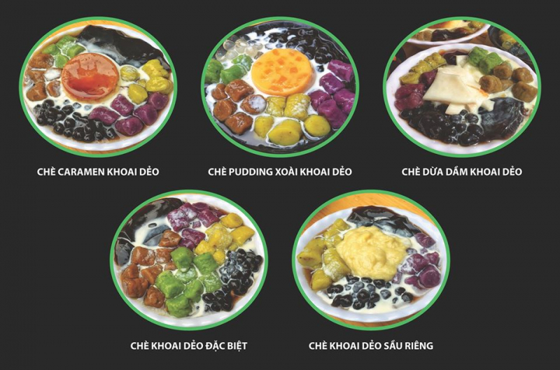 Top 7 Quán chè ngon và chất lượng nhất tại quận Ba Đình, Hà Nội