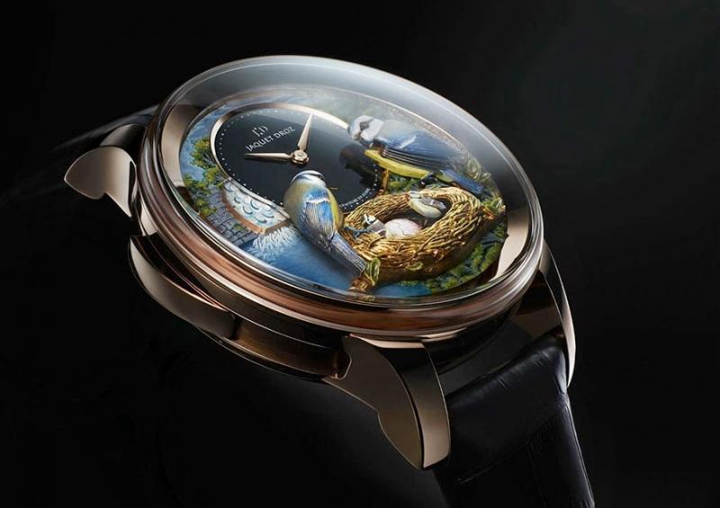Chiếc đồng hồ tinh xảo với chuyển động của những chú chim này có giá nửa triệu đô la Mỹ