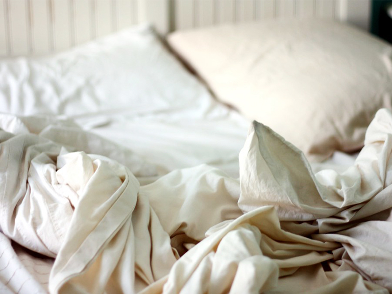 Chiếc giường là nơi ẩn náu của vi khuẩn