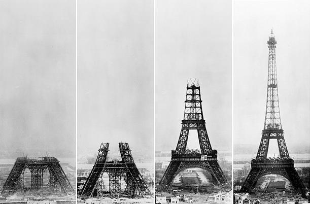 Các tầng của tháp Eiffel