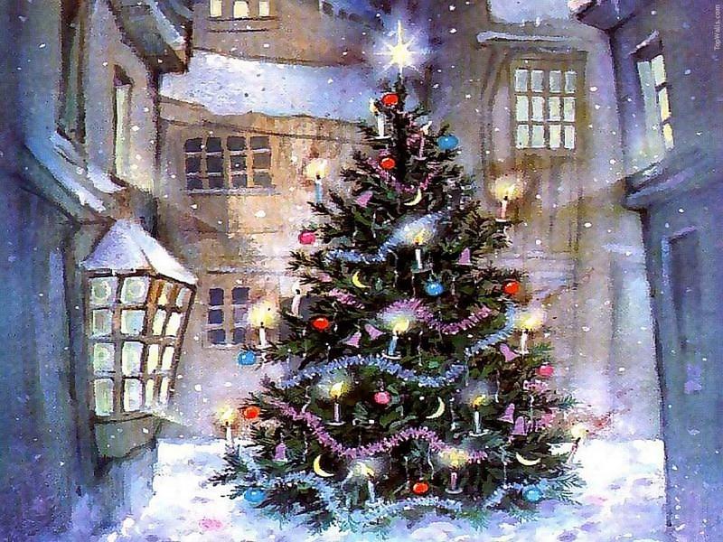 Nến Giáng Sinh: