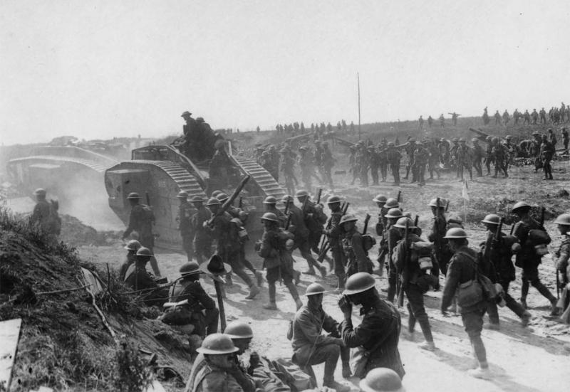 Chiến tranh thế giới thứ I khiến khoảng 15 triệu – 65 triệu người tử vong