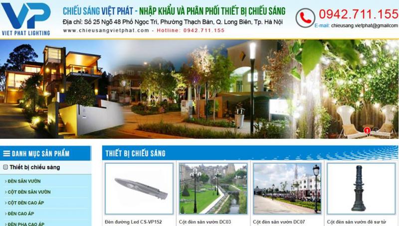 Chiếu sáng Việt Pháp