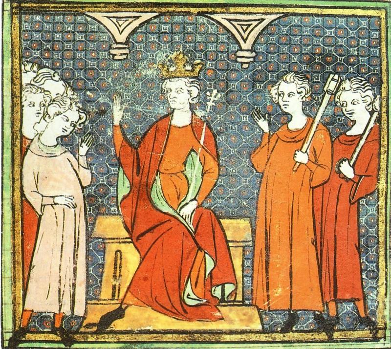 Childeric II bị ám sát.