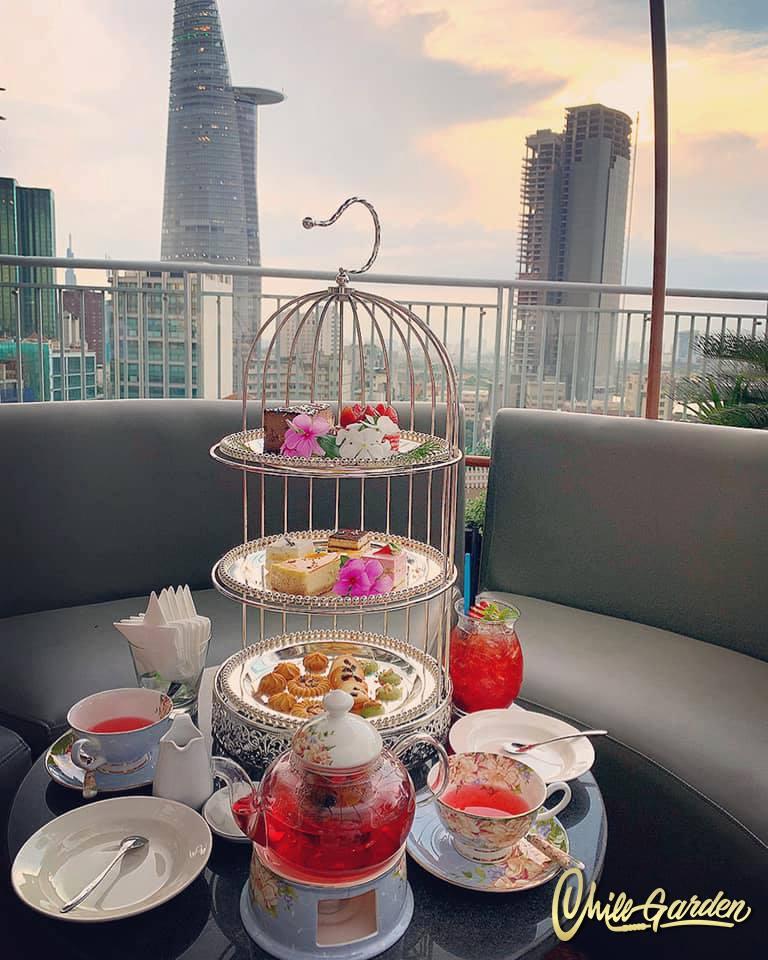 Top 10 Quán trà đẹp nhất ở Sài Gòn