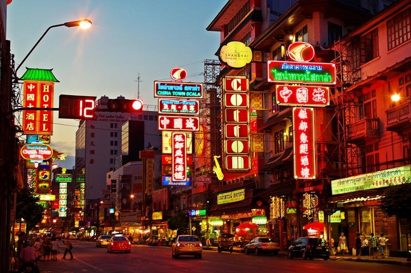 China town là khu phố nổi tiếng ở Singapore