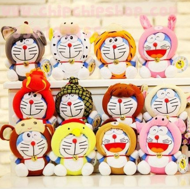Doraemon phiên bản 12 con giáp siêu ngộ nghĩnh