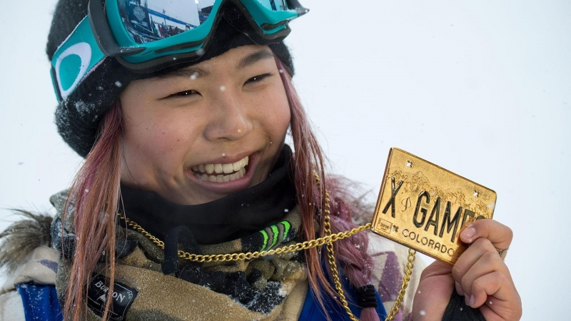 Chloe Kim tại Winter X Games - Nguồn: Sưu tầm