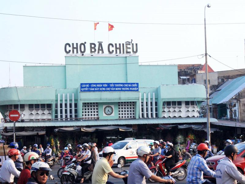 Chợ Bà Chiểu (Nguồn: Internet)