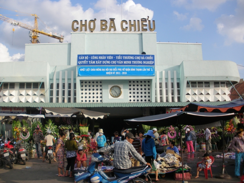 Mặt tiền chợ Bà Chiểu